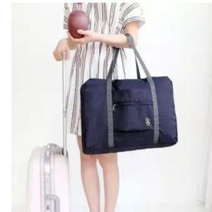 Handbags - Navy blue travel weekend duffel bag luggage